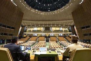 Đại Hội đồng Liên Hợp Quốc lần đầu bỏ phiếu kín