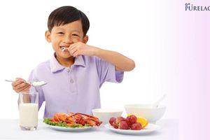 Sữa PureLac có giúp bé cải thiện tình trạng biếng ăn?