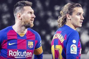 Dario Gol: Messi xô xát với Griezmann trên sân tập