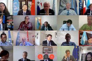 Hội đồng Bảo an trao đổi với Bộ trưởng Ngoại giao Cộng hòa Trung Phi
