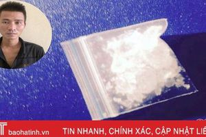 Mua ma túy về chưa kịp sử dụng thì bị bắt!