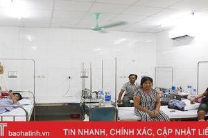 Các bệnh viện Hà Tĩnh đồng loạt triển khai giải pháp chống nóng cho bệnh nhân