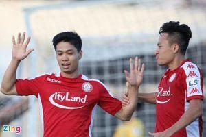 Công Phượng tỏa sáng đưa Câu lạc bộ thành phố Hồ Chí Minh lên đầu bảng