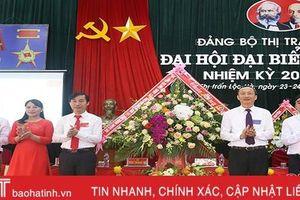 Đưa thị trấn Lộc Hà cơ bản đạt chuẩn văn minh đô thị vào năm 2025