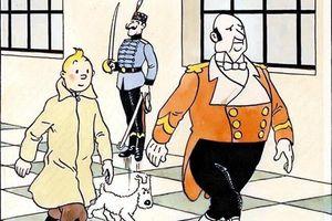 Đấu giá trang bìa trong bộ comic 'Những cuộc phiêu lưu của Tintin'