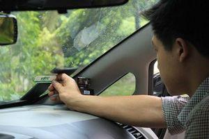 Tăng mạnh phương tiện sử dụng dịch vụ thu phí không dừng