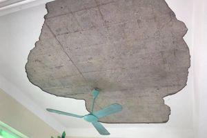 Vữa trần nhà rơi trúng 5 trẻ mầm non