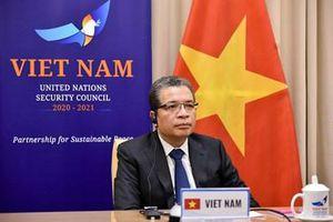 Việt Nam sẵn sàng đóng góp tích cực vào việc thúc đẩy đối thoại giữa Israel và Palestine