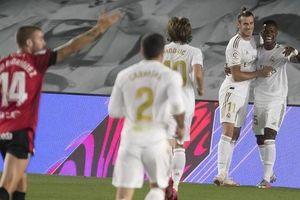 Vinicius và Ramos tỏa sáng, Real Madrid giành lại ngôi đầu