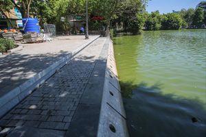 Kè hồ Hoàn Kiếm: Bảo tồn phải đi kèm chỉnh trang