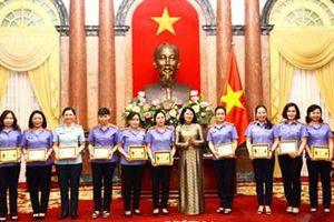 Phó Chủ tịch nước gặp mặt 110 nữ cán bộ tiêu biểu ngành Kiểm sát nhân dân