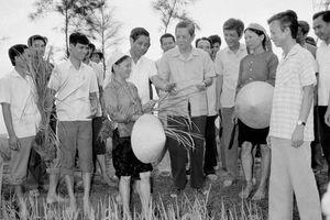Tổng Bí thư Nguyễn Văn Linh: Người khởi xướng công cuộc đổi mới