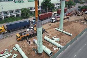 Hoàn thành 70% khối lượng công trình đường dây 220kV Cát Lái - Tân Cảng