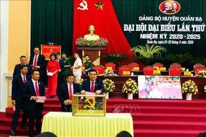 Kinh nghiệm hay từ Đại hội điểm Đảng bộ huyện ở Hà Giang