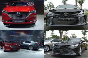 So sánh Mazda6 2020 với Toyota Camry 2019: Chọn xe sedan hạng D nào?