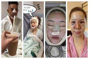 Nhìn hình ảnh những sao Việt này lúc thẩm mĩ khiến công chúng chỉ muốn 'chạy mất dép'