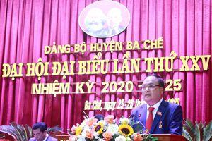 Khai mạc Đại hội Đại biểu Đảng bộ huyện Ba Chẽ lần thứ XXV