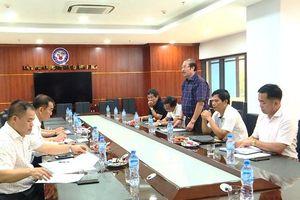 Đoàn công tác Liên đoàn Bóng đá Việt Nam làm việc với Liên đoàn Bóng đá Quảng Ninh