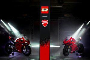 Siêu phẩm Ducati Panigale V4R LEGO: Đồ chơi trẻ em kết hợp với ước mơ người lớn