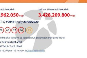 Kết quả xổ số Vietlott Power 6/55 tối 25/6: Điểm danh những người trúng hơn 61 tỉ đồng?