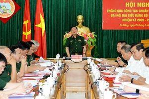 Đại tướng Ngô Xuân Lịch dự hội nghị thông qua công tác chuẩn bị và tổ chức Đại hội Đảng bộ Quân khu 5 nhiệm kỳ 2020-2025