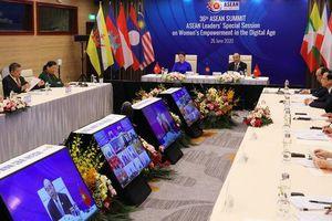 Lần đầu tiên Hội nghị Cấp cao ASEAN có hoạt động về chủ đề tăng quyền năng cho phụ nữ