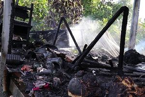 Cháy nhà ở Đồng Tháp khiến một phụ nữ tử vong