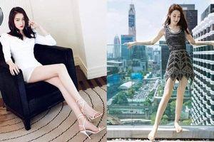 Dàn sao nữ sở hữu đôi chân dài trên một mét