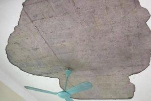 Vữa trần nhà rơi trúng 5 học sinh mầm non: Hiệu trưởng trường nói gì?