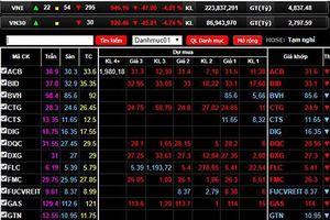Dòng tiền hướng tới nhóm Bluechips, VN-Index hồi phục sau 3 phiên điều chỉnh liên tiếp