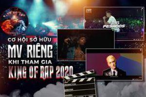 Tham gia King Of Rap giành cơ hội sở hữu MV riêng chuyên nghiệp đậm chất Underground