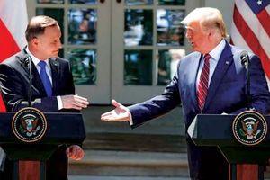 Mỹ củng cố quan hệ với Ba Lan