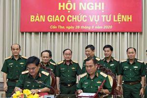 Thiếu tướng Nguyễn Xuân Dắt tiếp nhận chức vụ Tư lệnh Quân khu 9