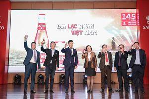 SABECO ra mắt phiên bản bia đặc biệt kỷ niệm 145 năm thành lập