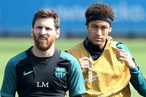 Neymar và những tháng ngày khó khăn cạnh Messi