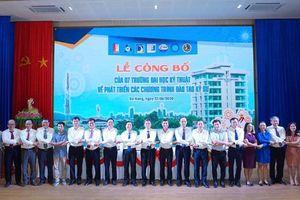 7 trường đại học Kỹ thuật ký công bố chung về chuẩn đào tạo kỹ sư