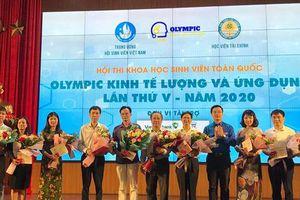 Khai mạc vòng chung khảo Hội thi 'Olympic Kinh tế lượng và ứng dụng' lần thứ V
