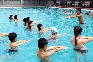 Năm 2019, gần 9.000 trẻ em được dạy bơi an toàn