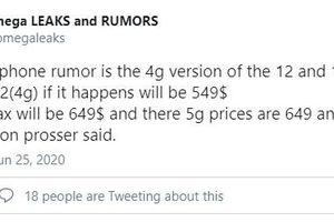 iPhone 12 phiên bản LTE sẽ có giá 12,7 triệu đồng