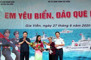 Cảnh sát biển tổ chức cuộc thi 'Em yêu biển, đảo quê hương'
