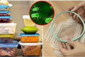 99% có thói quen dùng hộp nhựa đựng thức ăn trong tủ lạnh cứ tưởng sạch hóa ra bẩn vô cùng, nuôi vi khuẩn