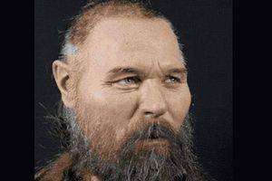 Hé lộ khuôn mặt của người Thụy Điển tiền sử 8000 tuổi