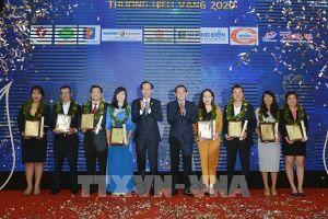 Trao giải thưởng Thương hiệu Việt được yêu thích nhất năm 2020 cho 30 doanh nghiệp