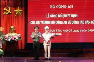 Điều động, bổ nhiệm lãnh đạo Công an TP.HCM, Long An, An Giang và Điện Biên