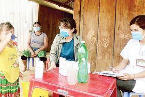 Nỗ lực khống chế dịch bạch hầu tại Đắk Nông