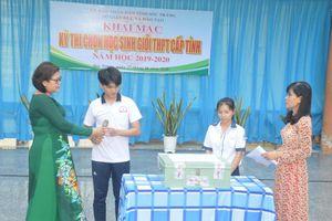 Sóc Trăng: 954 thí sinh tham gia kỳ thi chọn học sinh giỏi THPT cấp tỉnh