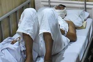 Ninh Bình: Truy bắt cát tặc, một cảnh sát đường thủy bị chém trọng thương