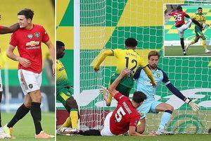 Toàn cảnh Norwich 1-2 MU: Tim Krul 'rất tốt' nhưng Harry Maguire 'rất tiếc'