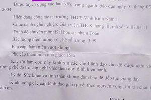 Thầy giáo ôm hôn nữ sinh lớp 7 xin nghỉ việc vì lý do 'sức khỏe không tốt'