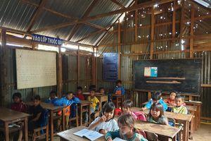 Ước vọng từ lớp học ở làng A Lao